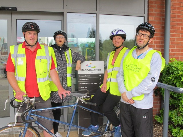 Visually impaired cyclists to take on 20km charity challenge
