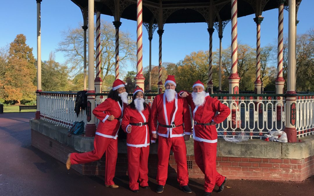 Calling all Santas – Santa Run in West Park, Wolverhampton