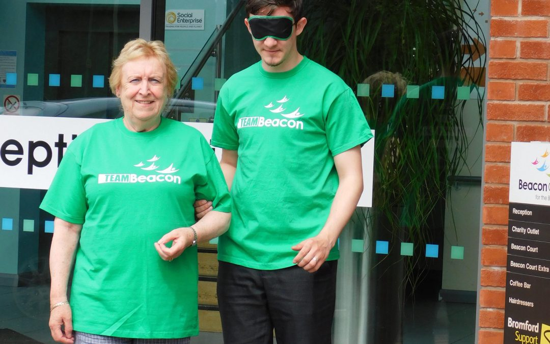 Sign up for the first Black Country  Blindfold Mile Walk