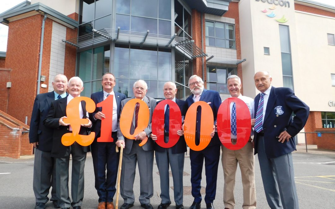 Beacon handed £10,000 boost from football tournament