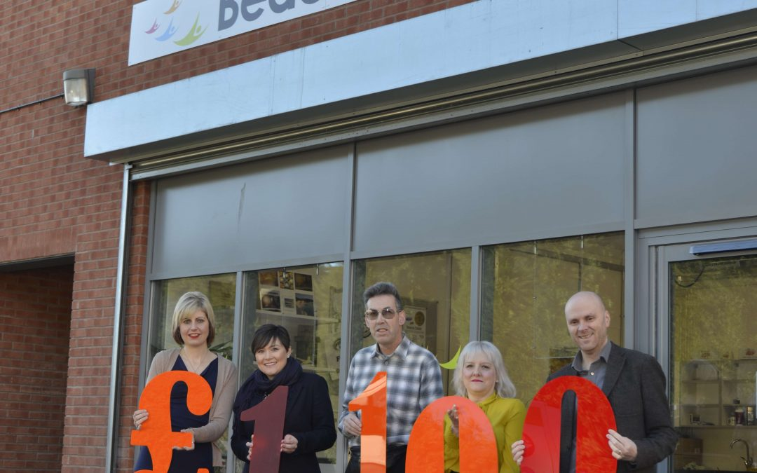 Solicitors make generous donation to Beacon