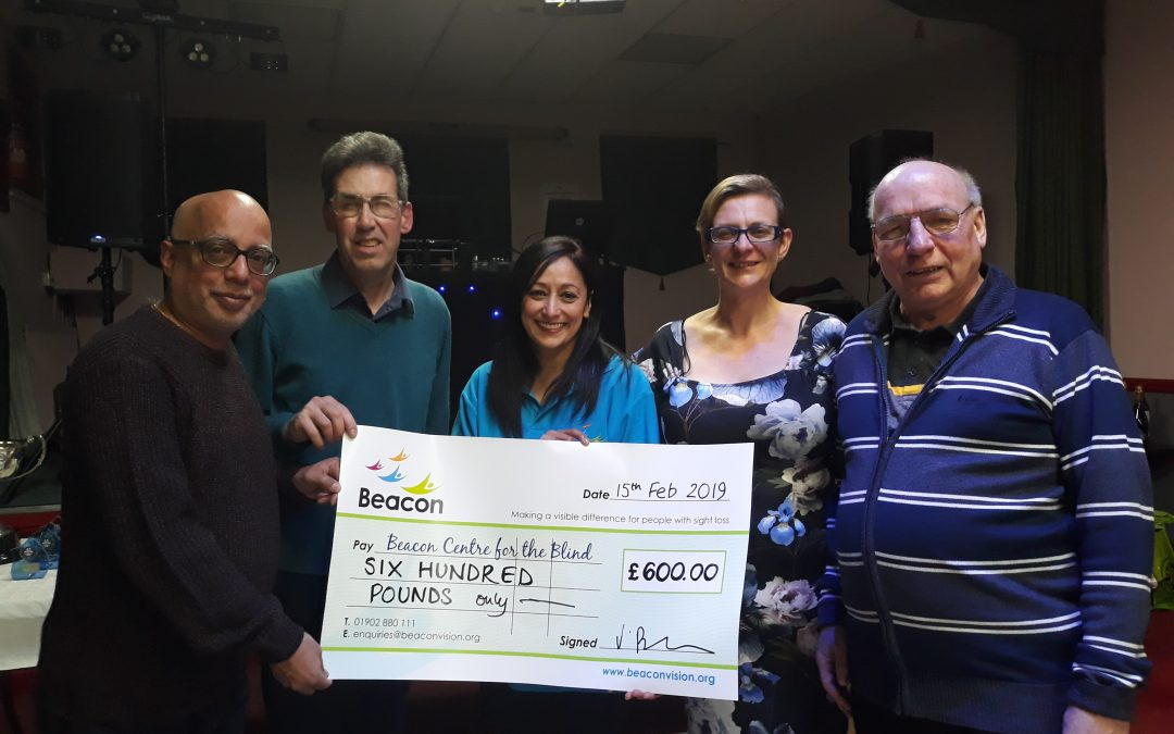 Dart League hits bullseye with more donations to Beacon