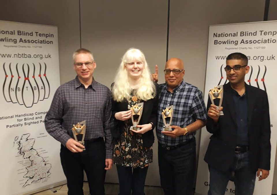 Blind tenpin bowlers clean sweep at national finals