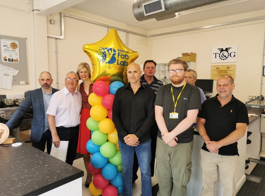Beacon's digital lab celebrates 'Fab' 1st Birthday