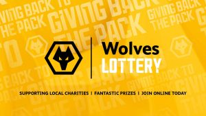 This is the Wolves Lottery logo